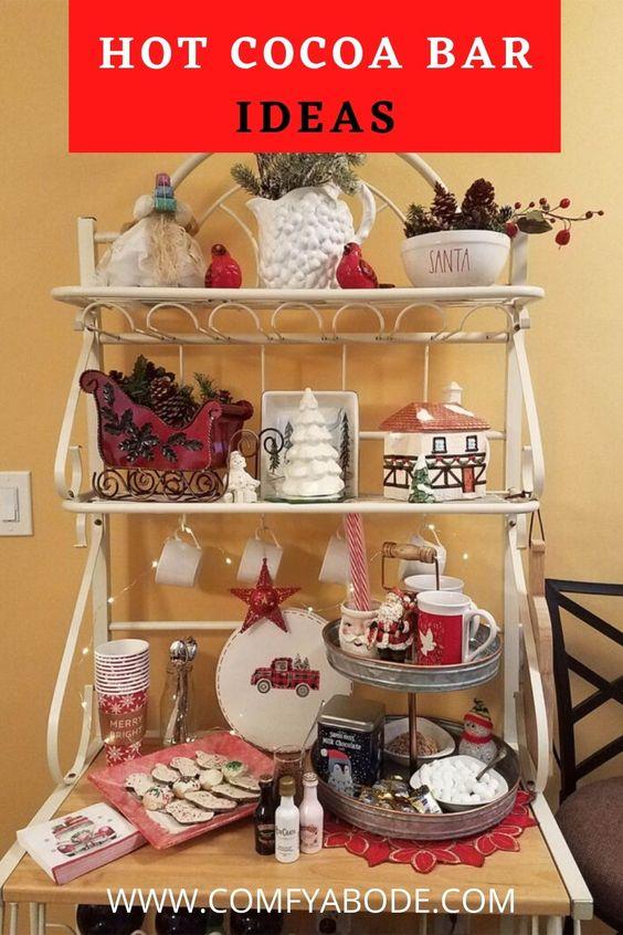 Easy Holiday Hot Chocolate Bar Ideas