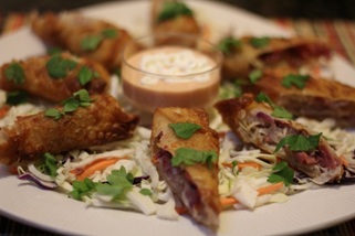 Best Corned Beef and Cabbage Egg Rolls Recipe