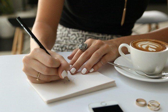 Latte styled photo