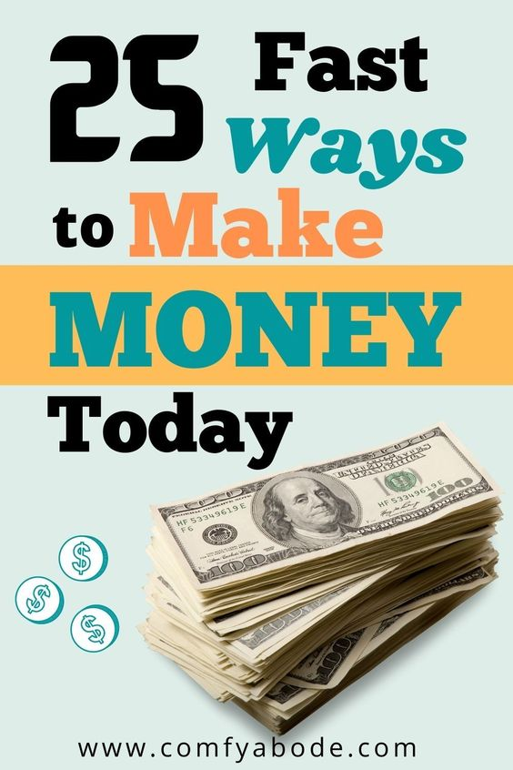 25 Creative Ways to Make $100 Fast: Side Hustles