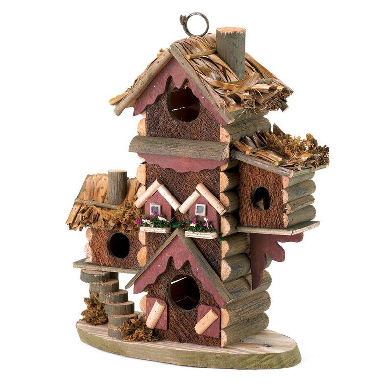 fall decor ideas - decorative birdhouse