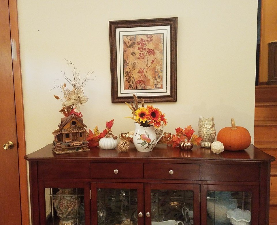 Fall Vignette Decor Ideas for your Home