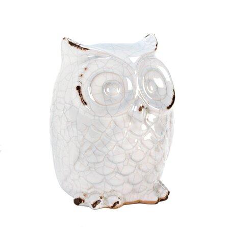 fall decor ideas - ceramic owl